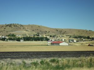 ranch and rolling hills