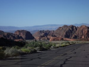 This is really the Snow Canyon but we think dandy called it the Black Fire Desert